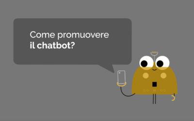 Come promuovere il chatbot